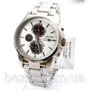 Мужские часы Seiko SSC083P1 Solar Chronograph