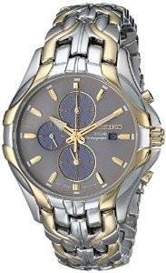 Мужские часы Seiko SSC138 Solar Chronograph