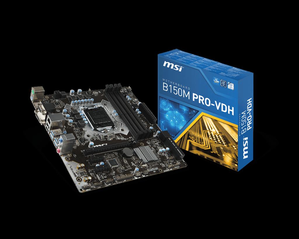 """Уценка! Материнская плата MSI B150M PRO-VDH s.1151 DDR4 """"Over-Stock"""""""