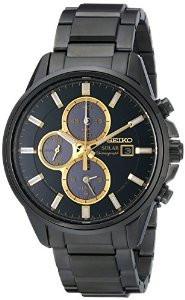 Мужские часы Seiko SSC269 Solar Chronograph