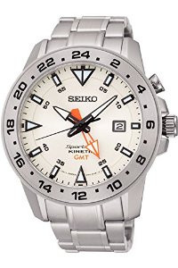 Мужские часы Seiko SUN025P1 Prospex Kinetic Sportura GMT
