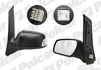 Зеркало левое эл+обогр + лампа порога / под покрас Ford Focus C-Max 03-07