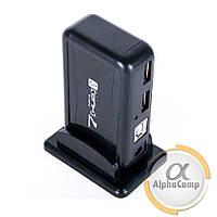 Хаб USB 2.0 Dynamode (7 портов/с блоком питания/black)