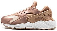 Женские кроссовки Nike Air Huarache Bronze Rose Gold (найк хуарачи) золотые