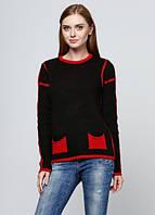 2678 Свитер женский черный: imprezz.com.ua