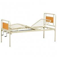 Ліжко функціональне механічне 3х-секційне без коліс, фото 1