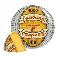 """Сыр LANDANA """"1000 дней"""" Голландия (режем от 300 грамм)"""