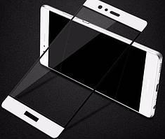 Защитное стекло для Huawei Y5 II 2 / Y6 Pro цветное Full Screen