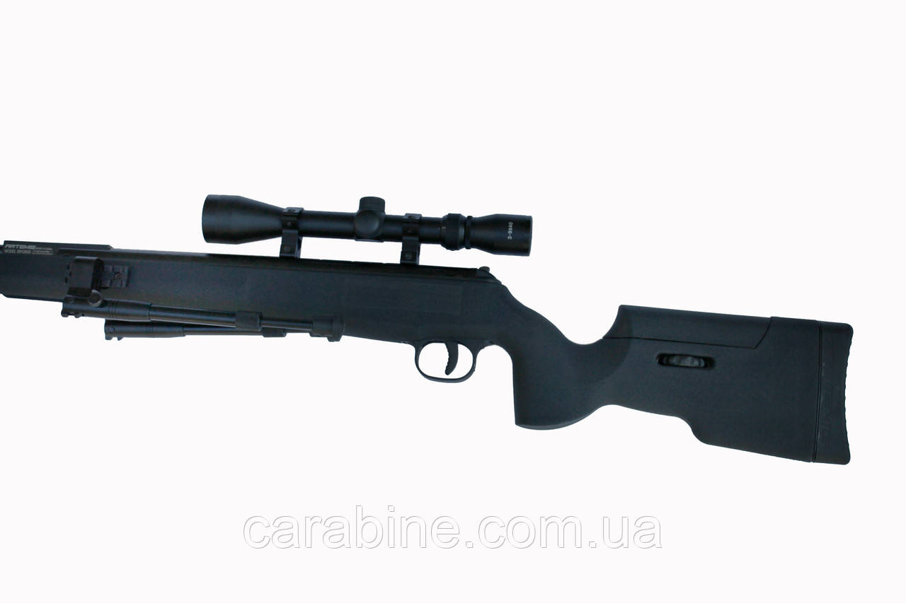 Пневматическая винтовка Artemis SR1250S NP с Газовой пружиной + ПО 3-9x40