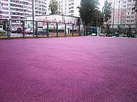 Бесшовное покрытие  15 мм розовая