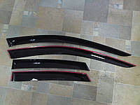 Дефлекторы окон (ветровики), комлект. (Cobra Tuning) - Zafira - Opel - 2011 O13011