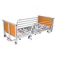 Ліжко з електроприводом 4х-секційне посилене на колесах, фото 1