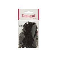 Сеточка для волос крупная Donegal коричневая.