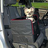 Место-лежак Trixie Car Seat для маленьких собак в автомобиль, 45х38х37 см, фото 1
