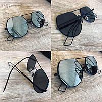 Женские шикарные зеркальные очки