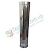 Труба ø100 мм 0,5 мм 1 м AISI 304 Версия-Люкс для дымохода дымоходная из нержавеющей стали нержавейки, фото 2