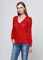 7800 Свитер женский красный: imprezz.com.ua