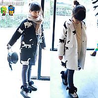 Модне пальто на весну та осінь для дівчинки