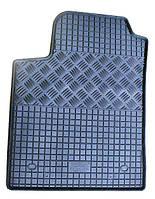 Коврики резиновые, черные, комплект 4 штуки, Rigum - Bravo - Fiat - 2007