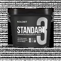 Standart 3 глубокоматовая интерьерная краска База А 0,9Л