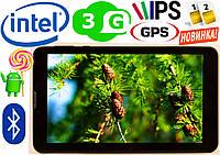 Планшет телефон GPS навигатор, Lenovo TAB на INTEL 8 ядер, 2sim, 3G Android 6