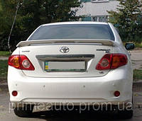 Спойлер на крышку багажника, под покраску, со стоп сигналом. (TAW) - Corolla - Toyota - 2007