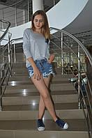 Женская кофта с люрексом Italy, фото 1