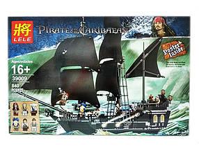 Конструктор Lele 39009 Пираты Карибского моря. Черная Жемчужина  (аналог LEGO 4184 Pirates of the Caribbean)