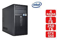 Системный блок Intel Core 2 Quad Q8400  (2.66 ГГц) / RAM 8 ГБ / HDD 250 ГБ / GTX 650
