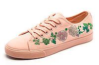 Кеды LION женские/подросток, текстиль, розовые, р. 36 37 38 39 40 41