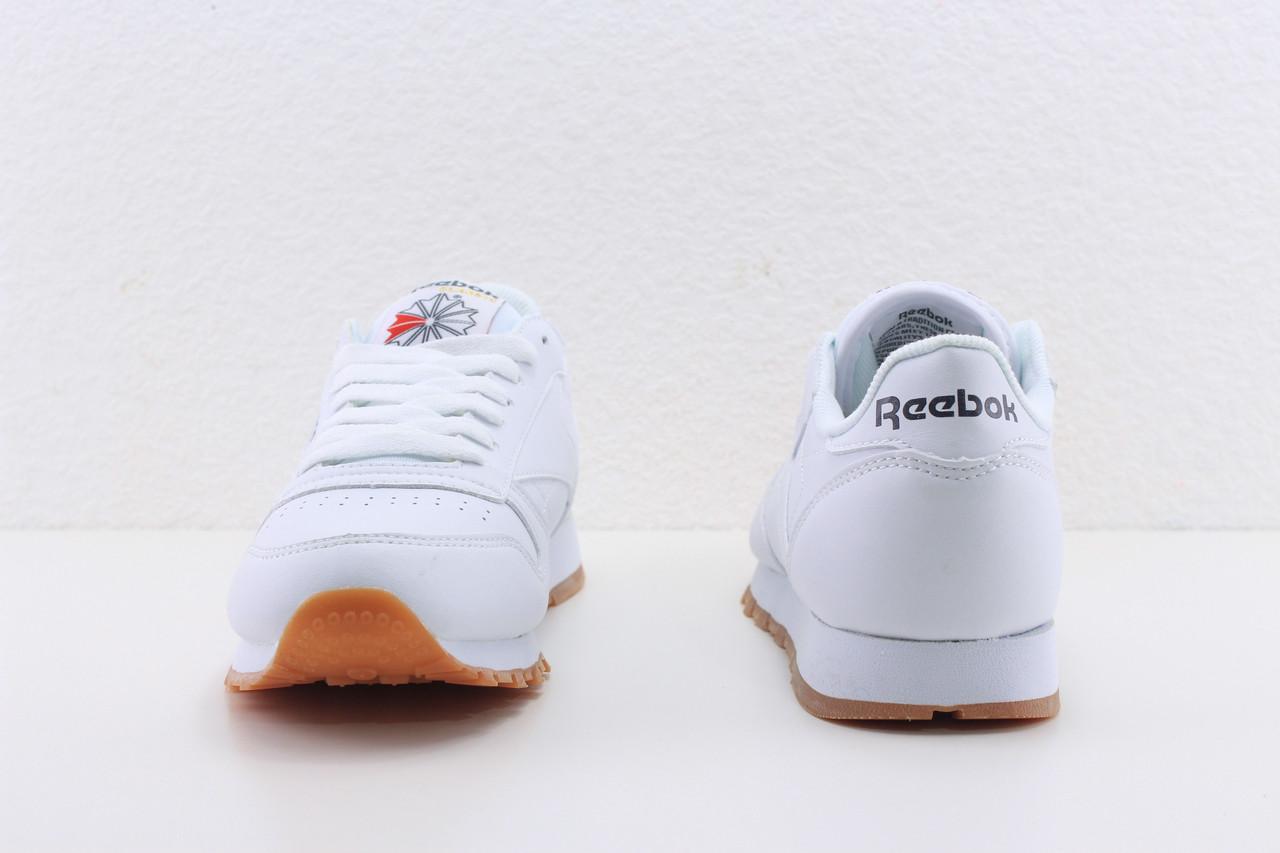 Купить Кроссовки Reebok Classic Leather White Gum trainer женские ... 1c02d15728c06