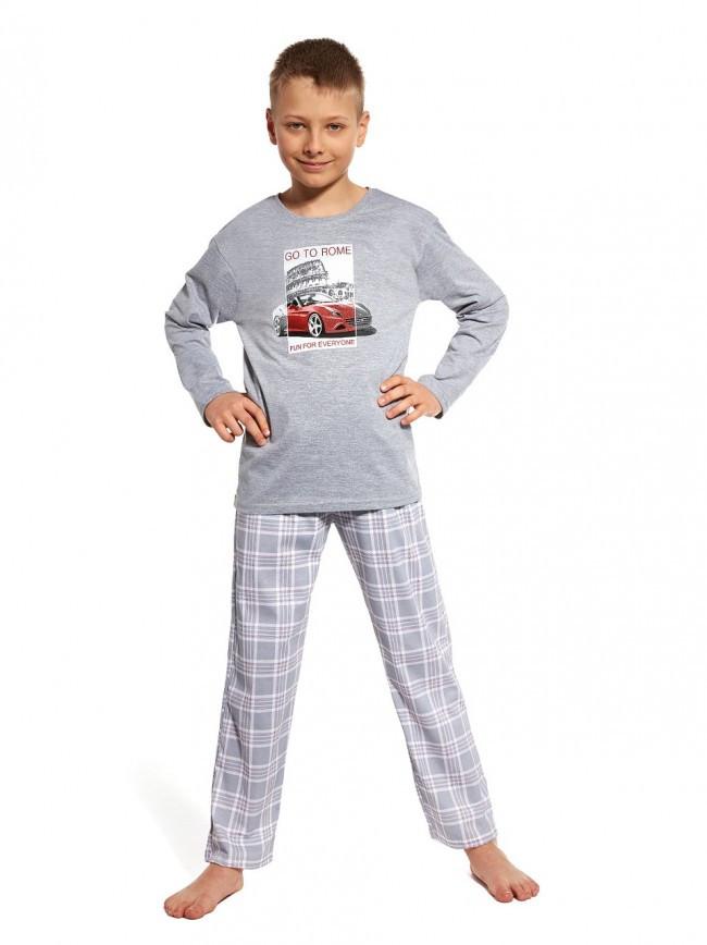 Пижама для мальчика 98-128.Польша.Cornette 809/69 GO TO ROME