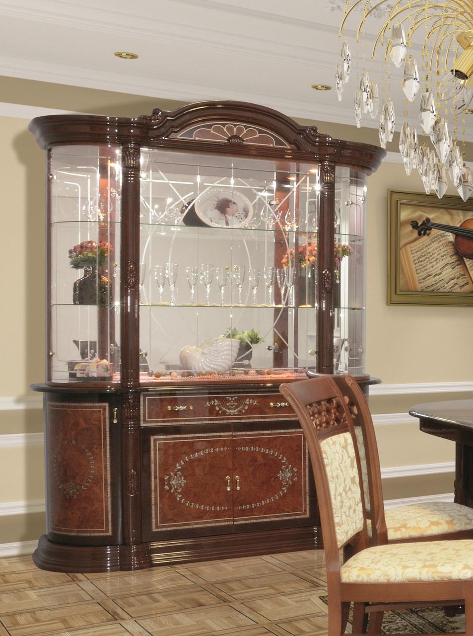 Витрина ( сервант) для гостиной 4Д Вивальди , Світ меблів