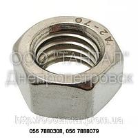Гайка шестигранная нержавеющая от М2 до М48, ГОСТ 5915-70, 5927-70, DIN 555, DIN 934, ISO 4034, ISO 4032