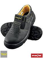 Спецобувь REIS с протипрокольной защитой (рабочие ботинки Польша) BRYES-S-S1P
