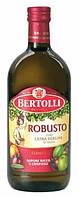 Оливковое масло натуральное первого отжима Bertolli Robusto Extra Vergine, 1 л.