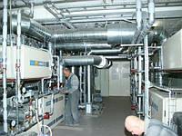 Обслуживание вентиляторов и систем вентиляции