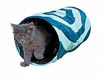 Туннель Trixie Playing Tunnel для кошек полиэстеровый, 25х50 см, фото 1