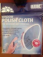 Салфетка для стекла Smart Microfiber|Оригинальная продукция из Швеции
