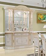 Витрина (сервант)  для гостиной в классическом стиле  4Д  Вивальди, Світ меблів