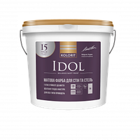 Idol матовая интерьерная краска 4,5 л база А