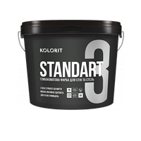 Standart 3 глубокоматовая интерьерная краска База С 4,5Л