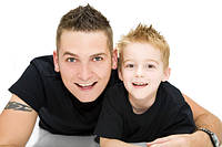 Стрижка Папа + сын