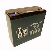 Аккумуляторы к электровелосипедам 6-DZM-20