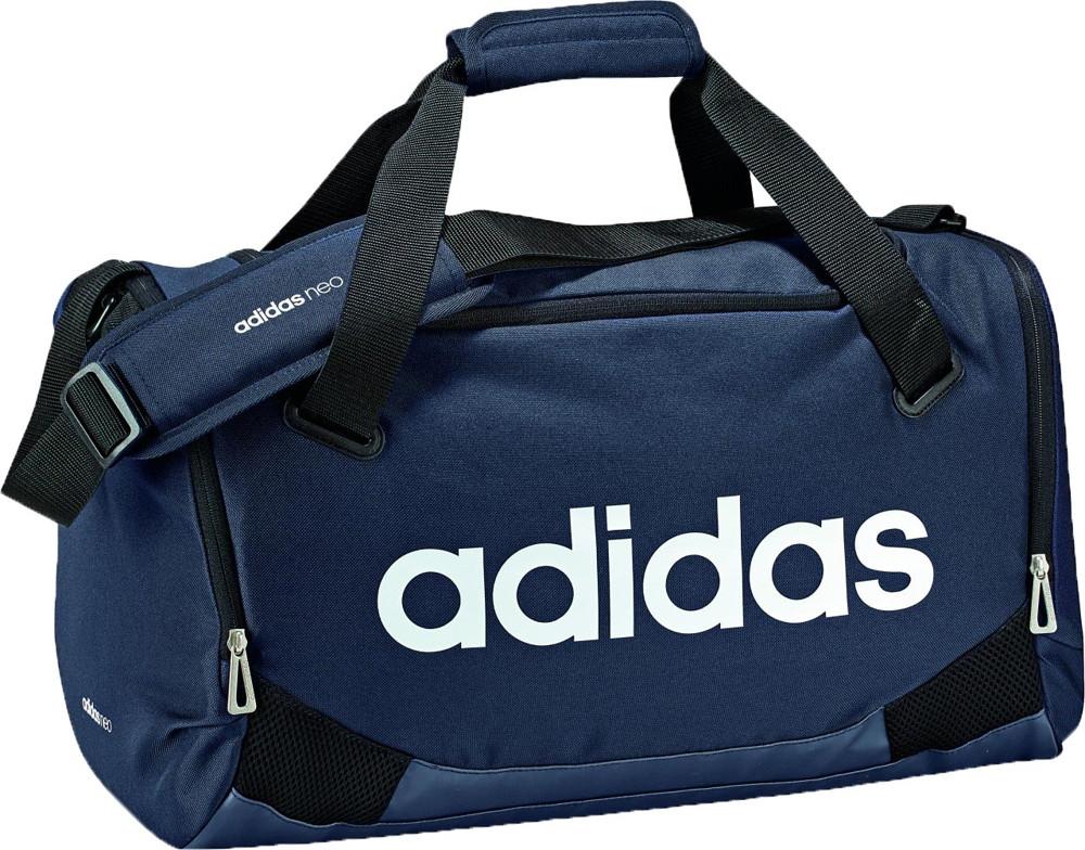 Сумка спортивная маленькая Adidas Neo BQ7034 original daily gymbag S  темно-синий