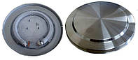 Тэн на дисковый чайник. диаметр 147\150 мм мощность 1850 вт на 220 в.Нержавеющий