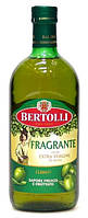 Оливковое масло натуральное деликатное Bertolli Fragrante Extra Vergine, 1 л.