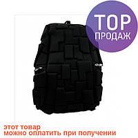 Рюкзак большой Square черный / городской рюкзак