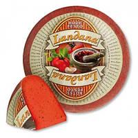 Сыр Landana Красный Песто, Голландия (режем от 300 грамм)