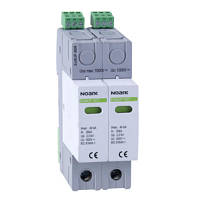 DC SPD Ex9UP with remote contact, Class II, In=20kA, 1000 V DC, 2DIN, for grounded PV systems